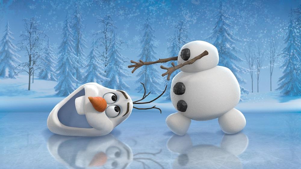Olaf la reine des neiges