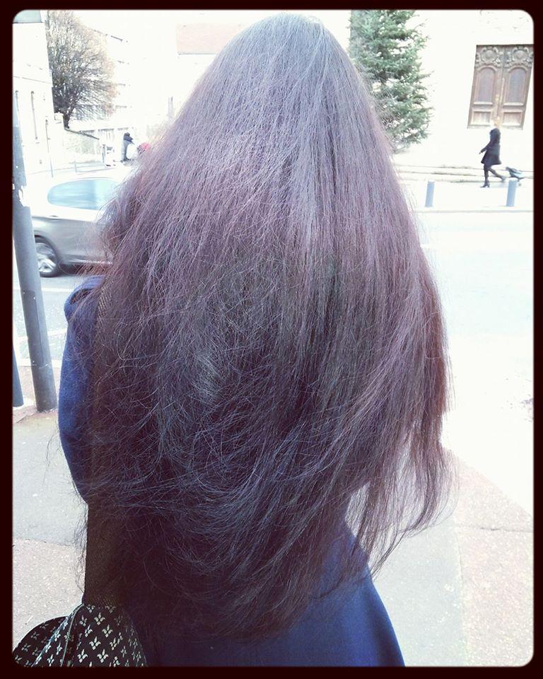 cheveux hiver