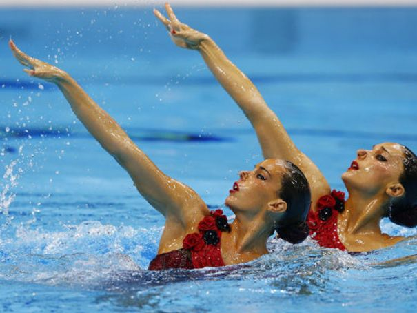 Ona Carbonell Ballestero et Andrea Fuentes Fache - JO de Londres 2012 - Photo ©Reuters