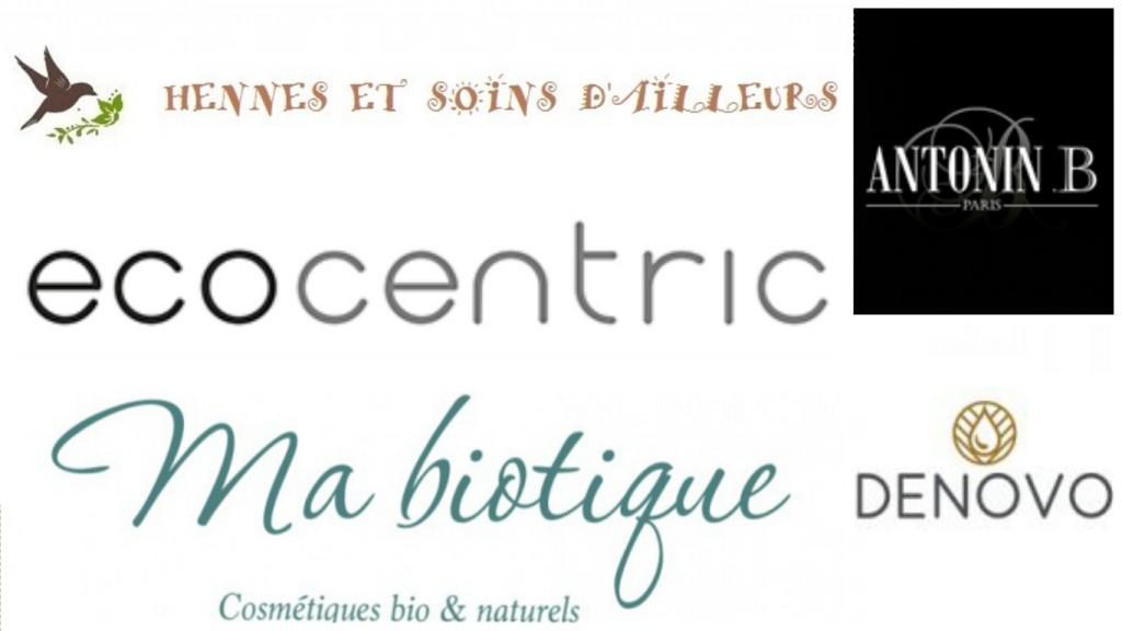 boutiques bio en ligne, denovo, antonin B, hennés et soins d'ailleurs, MaBiotique, Ecocentric