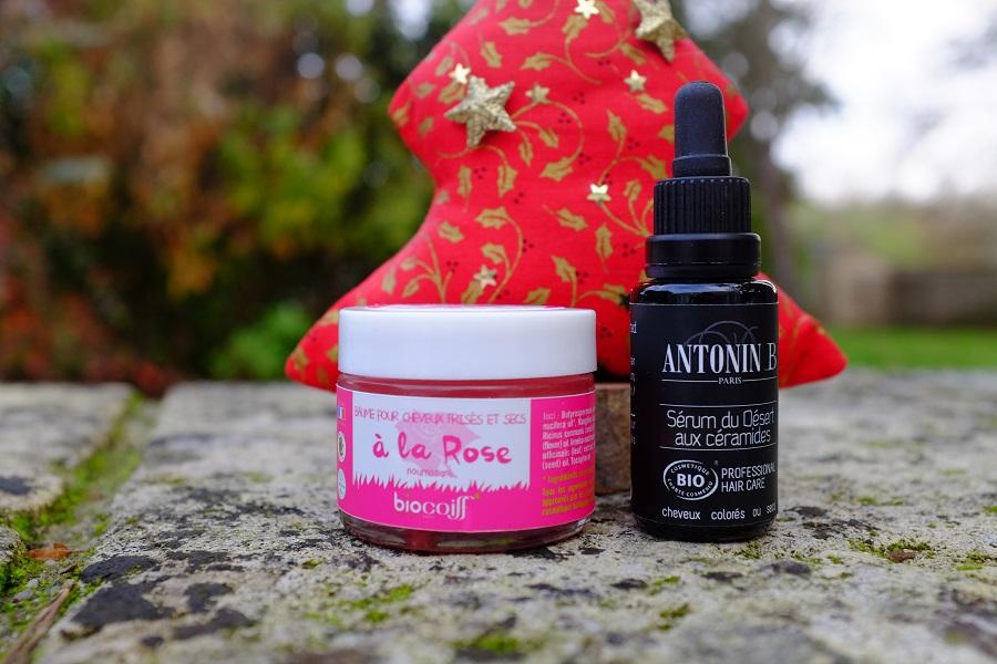 baume à la rose biocoiff et sérum Antonin B