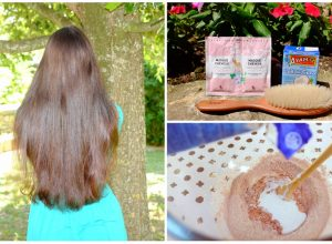 Enlever couleur cheveux argile