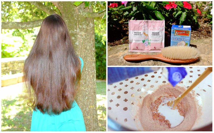Un masque de fée pour soigner ses cheveux cet été