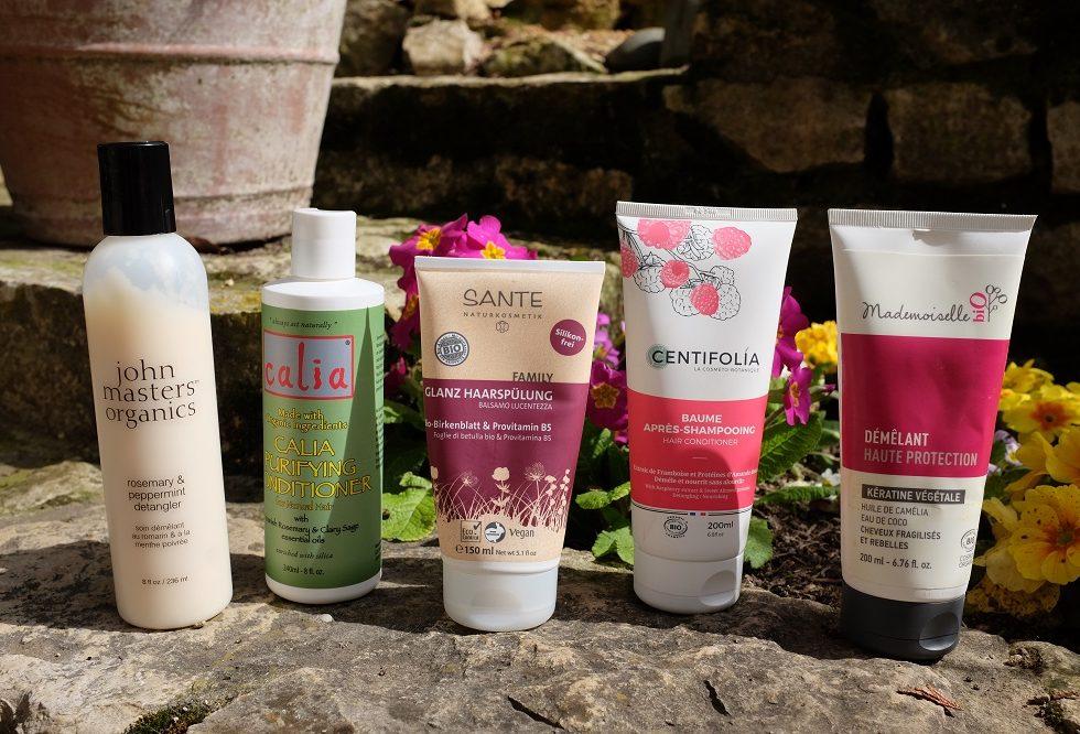 Après shampoings naturels mon top 5