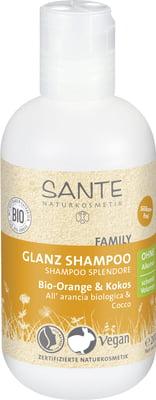 Shampoing orange coco Santé naturkosmetik