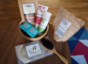 Mon masque aux poudres hydratant 2 en 1 shampoing et après-shampoing