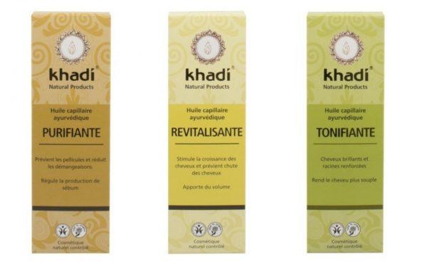 huile purifiante revitalisante tonifiante khadi