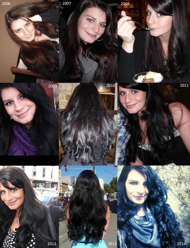 Lauren Inthehair : mon historique cheveux de 2006 à 2014
