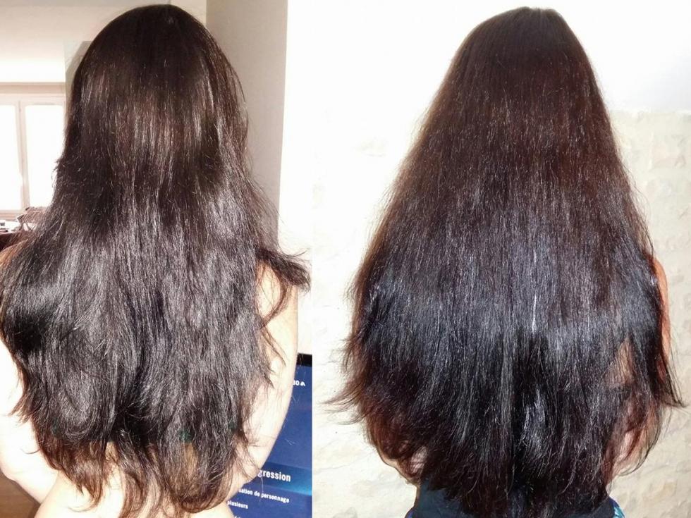 Masque pour la pousse du cheveux