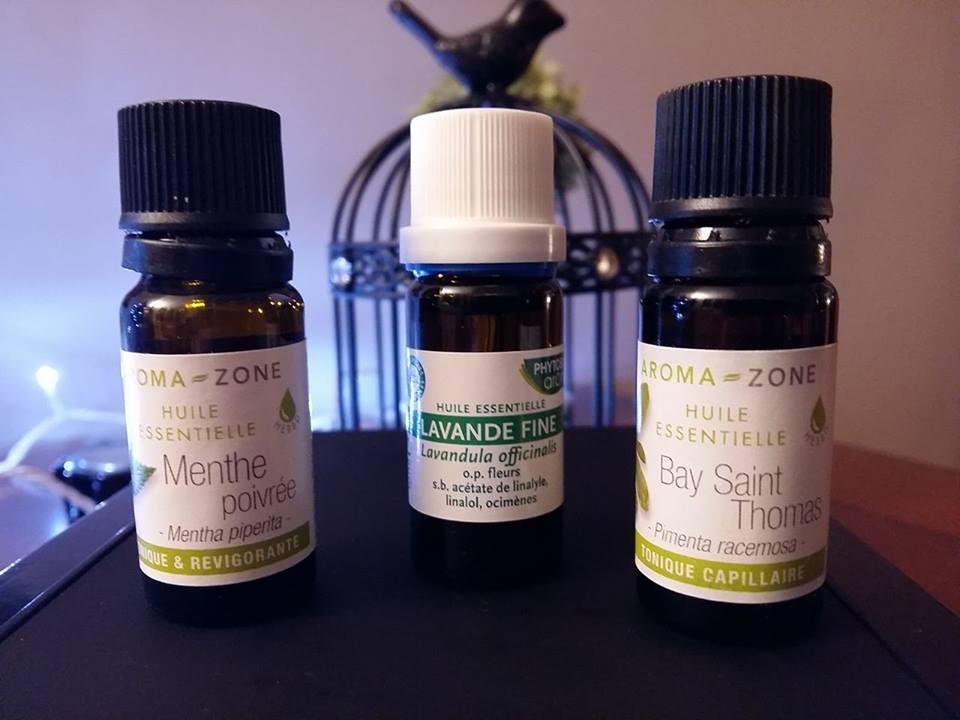 huiles essentielles bonnes pour la pousse des cheveux