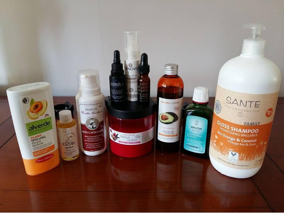 Des produits bio-naturels pour mes cheveux oui mais où