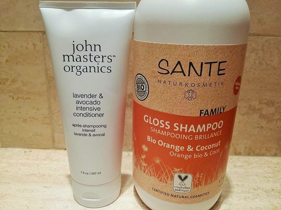 shampoing et après shampoing