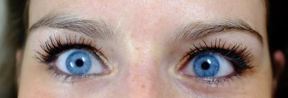 sourcils avant épilation