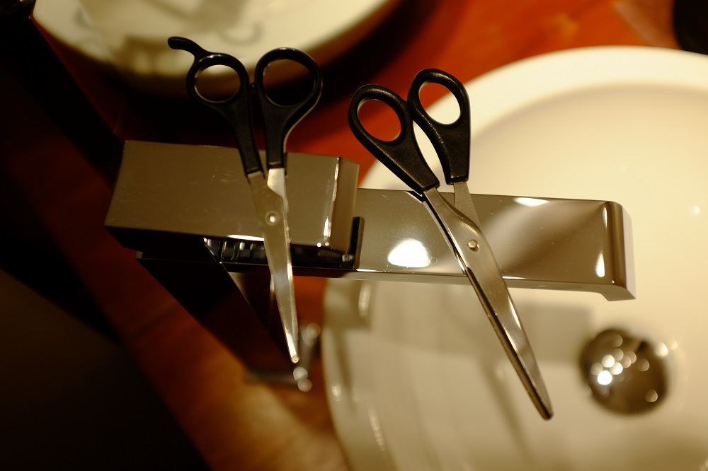 Ciseaux coupe cheveux Lauren inthehair