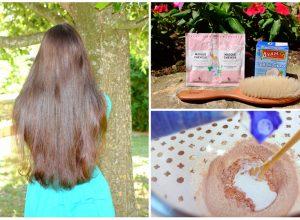Enlever coloration sur cheveux