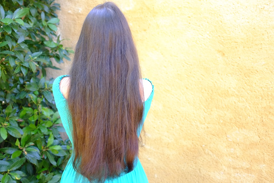 resultat ombre masque cheveux secret des fees