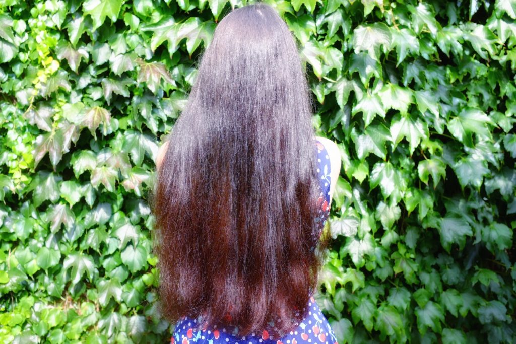 résultat cheveux Lauren Inthehair - masque capillaire beurre de mangue Avril