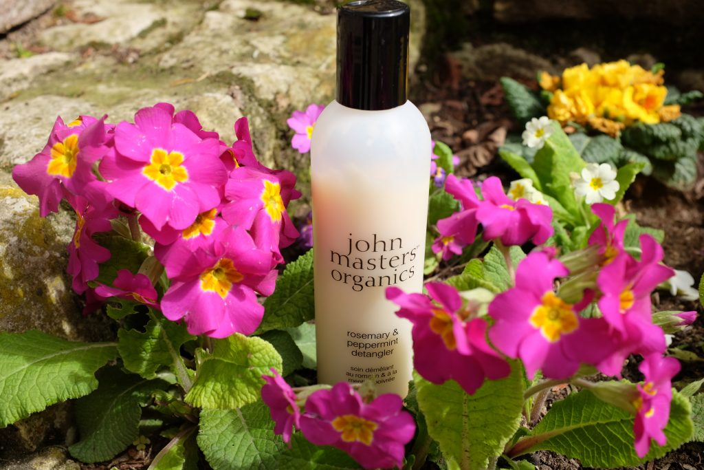 Soin démêlant romarin et menthe poivrée John Masters Organics