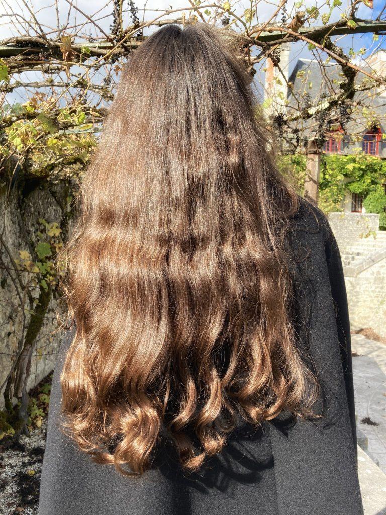 Cheveux sans chignon - Lauren Inthehair